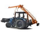 Услуги ямобура на базе трактора МТЗ (глубина до 2,8 метров, диаметры 200, 350, 500 мм)