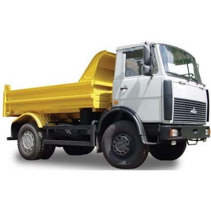 Услуги самосвала МАЗ-5551 г/п 10т, объем кузова 6 куб.м, кол. формула 4х2