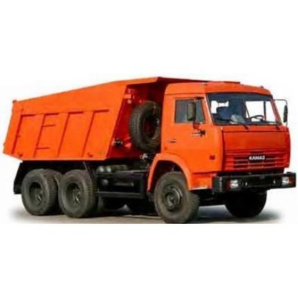 Услуги самосвалов КамАЗ-65115 г/п 15т, объем кузова 10 куб.м, кол. формула 6х4